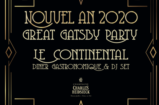 Nouvel An 2020: a Great Gatsby kind of party !